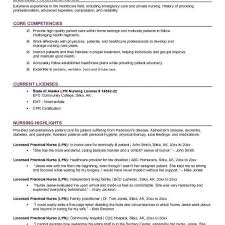 Resume Idea Nursing Pinterest Licensed Practical Nurse Resume