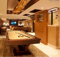 game room lighting ideas. a vintage wooden board hangs above the billiard table in ultimate media room game lighting ideas g
