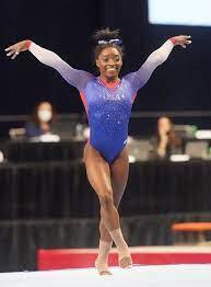 Simone Biles U.S. Olympic Trials Floor ...
