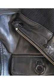 safari military leather er jacket men