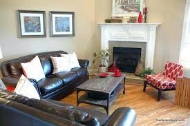 living room with corner fireplace living room corner furniture designs how to arrange furniture in a