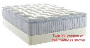 pillow top mattress twin.  Top Twin XL Electric Adjustable Bed With 13 In Pillow Top Mattress