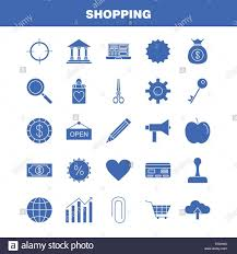 Shopping Solid Glyph Icon For Web Print And Mobile Ux Ui