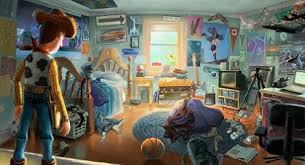 Andyu0027s Bedroom Undergoes Many Changes Throughout The Toy Story Series,  Depending On Andyu0027s Current Interests/obsession. His Room Begins In The  First Toy ...