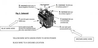 contactor wiring diagram superwinch contactor discover your wiring diagram for superwinch 4500 wiring wiring diagrams
