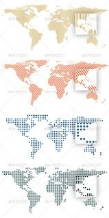 Next, draw the dotted line that you'd like to make square. World Map By Dots And Lines By Erengoksel 4 Vector World Maps Formed By Lines And Dots Ai And Coreldraw X4 Files In World Map Design Infographic Map World Map