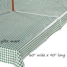 patio table tablecloths green long zippered vinyl umbrella hole table cover outdoor patio tablecloth unbranded round