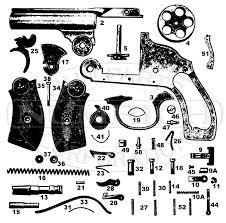 harrington richardson revolvers new model small frame hammerless gun schematic