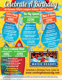 Water Park Group Party Package Missouri Kansas City Mo Indoor