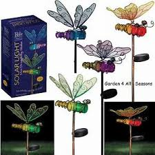 image is loading bottle solar lights garden stake erfly dragonfly