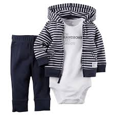 details about 3pcs infant baby boy winter coat romper pants outfits toddler warm clothes set