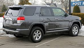 File:Toyota 4Runner SR5 5th generation rear right.jpg - Wikimedia ...