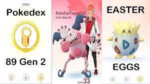 Pokemon GO 2-5-10 Km Easter Eggs Surprise - NEW Gen 2 Pokedex ...