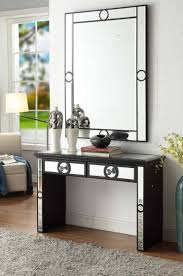 henley two drawer mirrored console