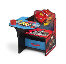 delta children disney cars kids study playroom toyroom chair desk storage bin