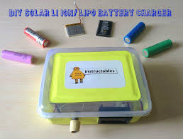 picture of diy solar li ion lipo battery charger