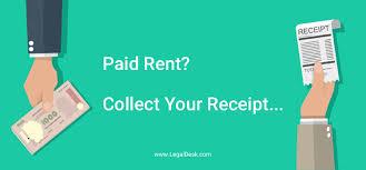 Make Your Free Rent Receipt Online