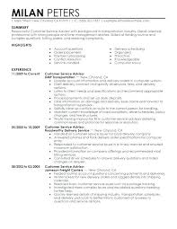 Service Advisor Sample Resume Best Of Service Advisor Resume Powerful Example Of Best Customer Sample Well
