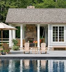 eclectic outdoor furniture. Designer Outdoor Furniture Pool Farmhouse With Adirondack Chairs Colorful Pillows Eclectic U