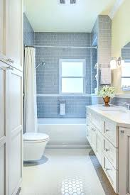 gray subway tile bathroom gorgeous in transitional with next to around window alongside colored and shower grey white