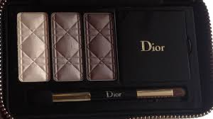 hm interesting there s some yellowish glow and greyish greige going on here now what i ve e to expect from dior in these holiday palettes