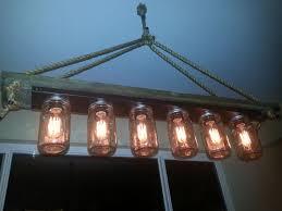 mason jars lighting. introduction mason jar 6 light edison hanging lamp show all 7 items jars lighting