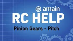 R C Help Pinion Gears Gear Pitch