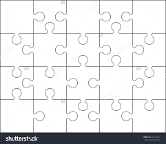Large Puzzle Piece Template Free Download Clip Art - Carwad.net