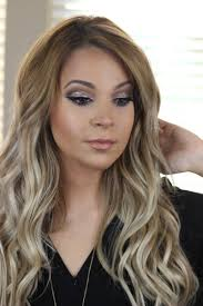 super glam nye makeup revlon eye art topaz le luxy hair ash blonde