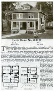 Foursquare Classic   Hewitt Lea Funck Co    Seattle   s    Four Sqaure House Plan   Colonial Revival   Harris Homes