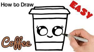 #cutedrawing #howtodraw #drawcute #drawing #bobocuteart. Coffee Easy Coffee Cute Drawings For Kids Novocom Top