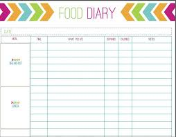 Daily Exercise Log Free Printable Food Tracker From And Exercise Journal Workout
