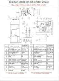 eb15d coleman electric furnace parts hvacpartstore click here to view wiring diagrams