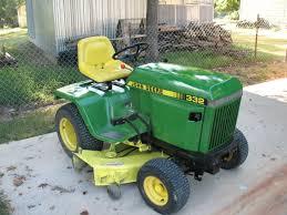 diesel garden tractor. John Deere 332 Diesel Garden Tractor With 50\u0026quot; D