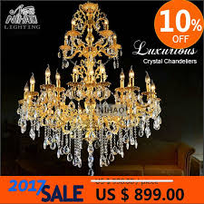 galaxy long crystal chandelier light fixture 18 lights clear large hotel crystal light re prompt md2456 home decor