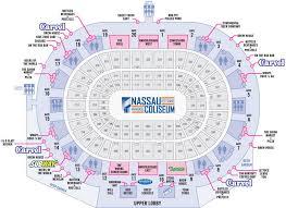 44 High Quality Nassau Coliseum Virtual Seating Chart