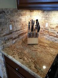 kitchen lighting undermount kitchen cabinet lighting with natural travertine tile backsplash and double electrical outlet cover backsplash lighting