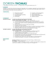 Resume Tips 2017 Best Counter Desk Attendant Equipment Specialist Resume Example 98