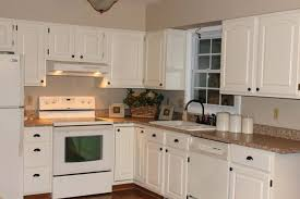 painted kitchen cabinets with white appliances. Cream Painted Kitchen Cabinets Image Of Colored With White Appliances B