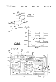 patent us5377524 self testing capacitive pressure transducer and patent drawing