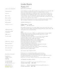 Best Nanny Resume Rabotnovreme Magnificent Child Care Resume Sample