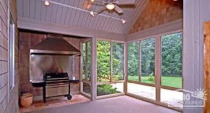 sunroom lighting. Delighful Sunroom Sandstone Aluminum Frame Three Season Sunroom With Gable Roof For Lighting