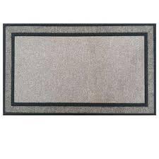 rubber backed door mat