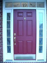 6 panel front door 4 exterior contemporary decoration with side panels steel in x clear glass 6 panel steel door