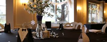 wedding reception caldwell hall table dressing