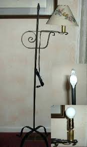 wrought iron floor lamps adjule black iron floor lamp black iron floor lamps on black wrought