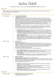 Resume Examples By Real People Sr Technical Support Specialist