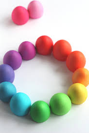 Food Dye Color Chart For Easter Eggs Not Martha Easter Egg Food Color Palette