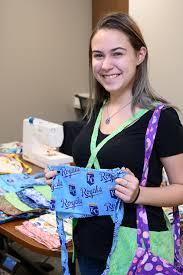 Student Volunteer Makes Hundreds of Bags for Saint Luke's Breast Cancer  Patients | Saint Luke's Health System