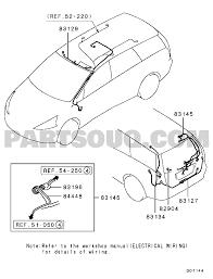 Wiring attaching parts exterior ljhfl6 na8w eu 154 710d01144t part catalog eumodel na8wcode